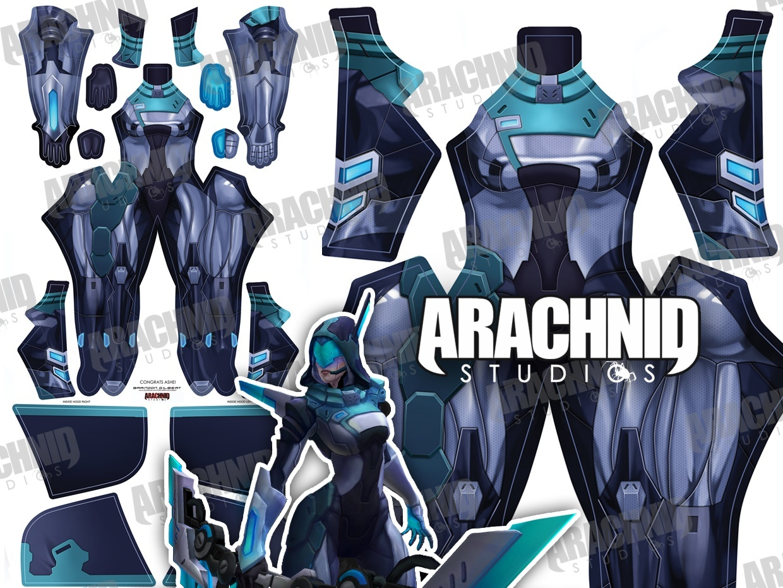Project Ashe Dye-sub pattern