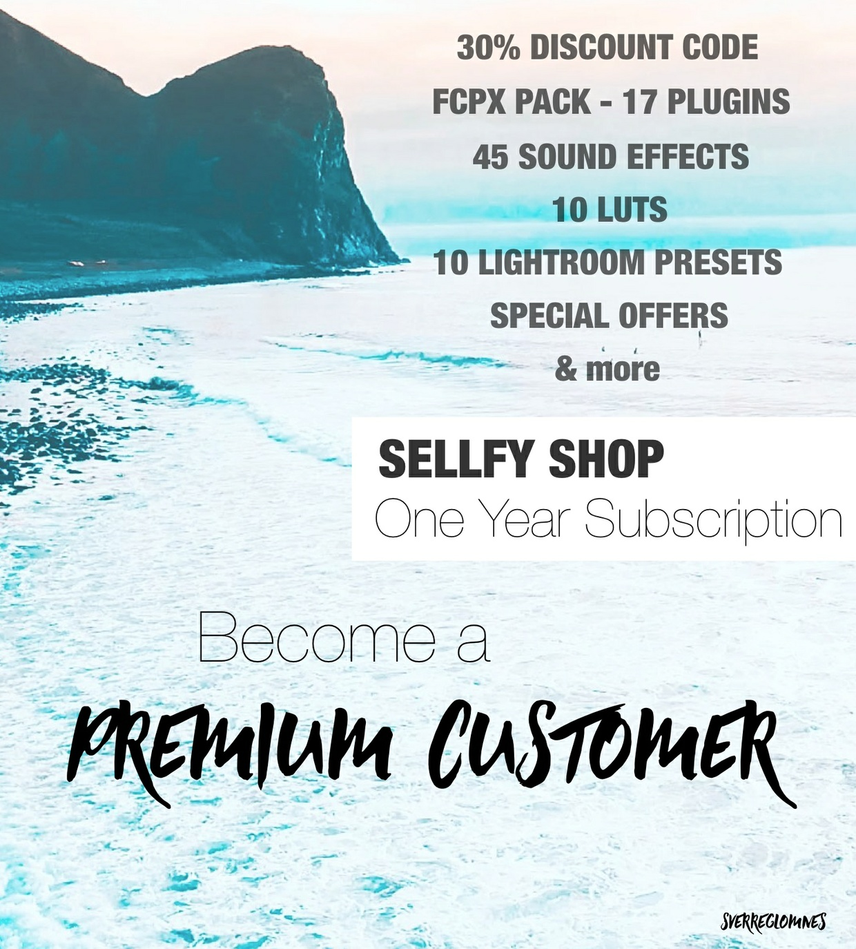 PREMIUM CUSTOMER - One Year Subscription // SverreGlomnes Sellfy Shop