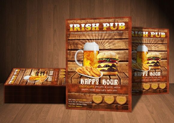 Your Irish Pub Flyer