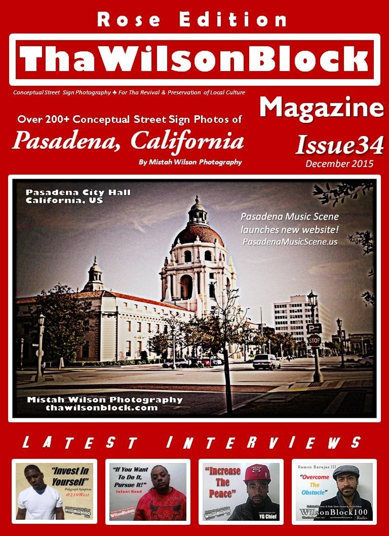 ThaWilsonBlock Magazine Issue34 Rose Edition