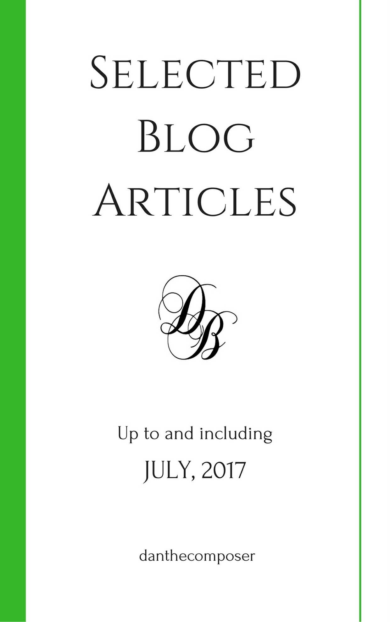 Selected Blog Articles