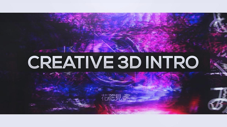 Creative 3D Intro