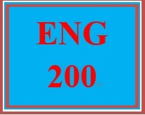 ENG 200 Week 2 Topic Selection