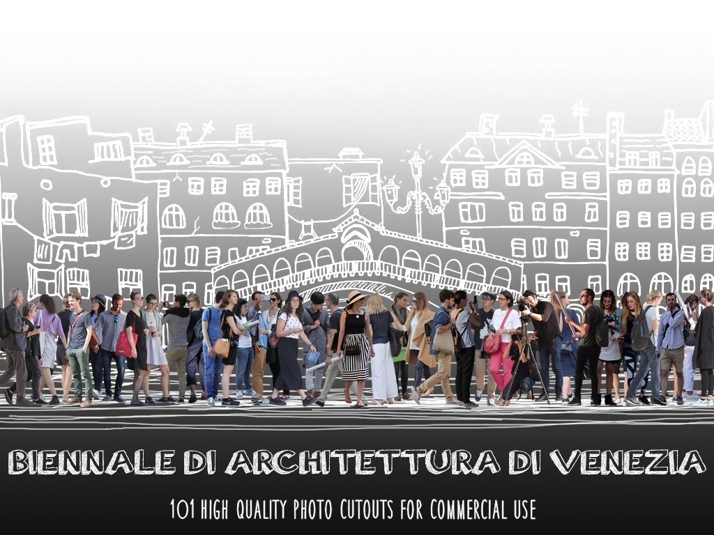 BIENNALE DI ARCHITETTURA DI VENEZIA - 101 Photo Cutouts