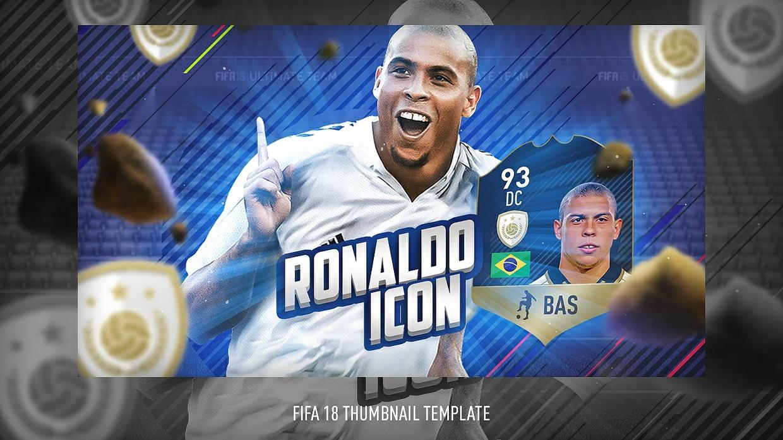FIFA 18 THUMBNAIL TEMPLATE    FIFA 18 ICON