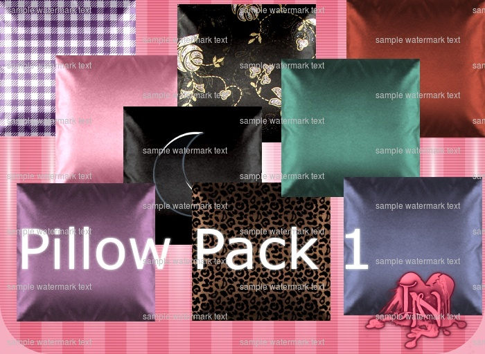 Pillow Pack 1 (Assorted 25 Textures)