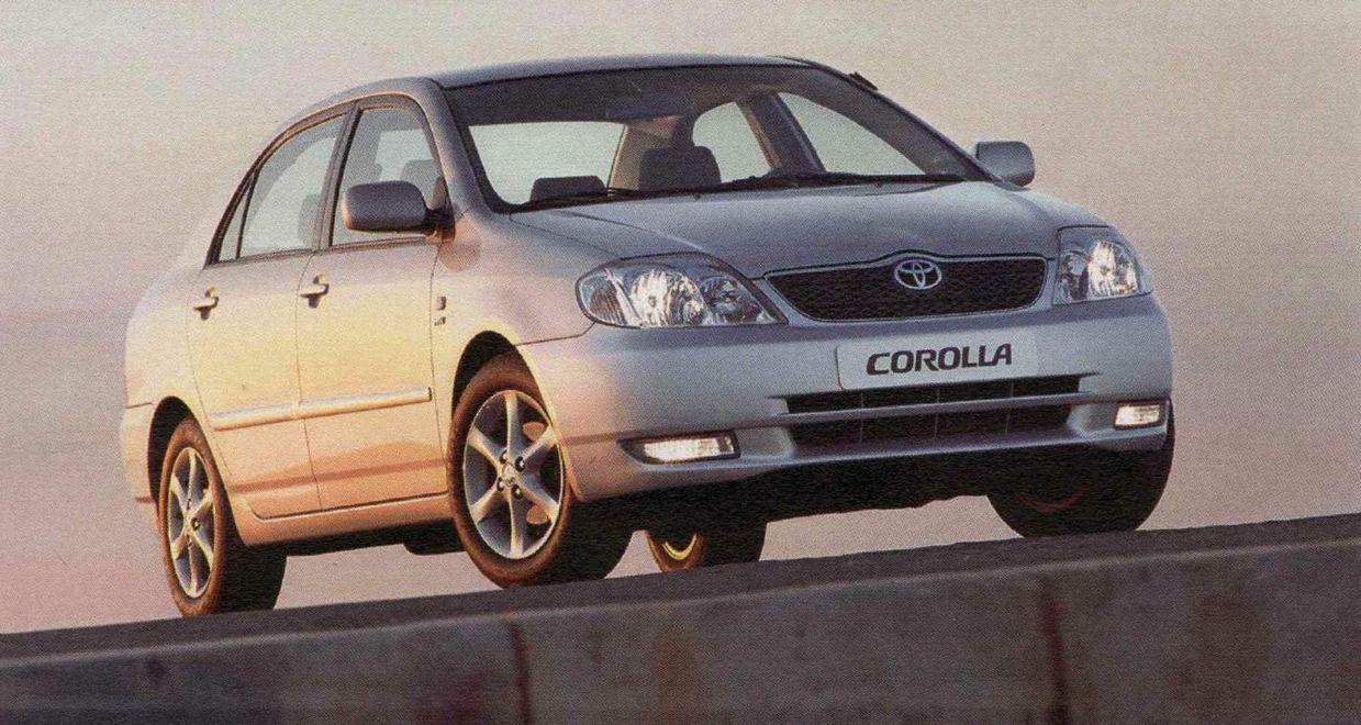 Toyota corolla 2003 Service manual Pdf changes