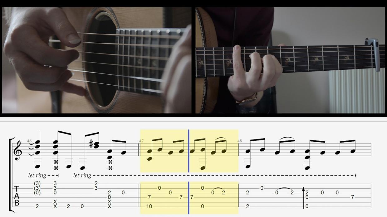 Closer - Tab Playthrough Video