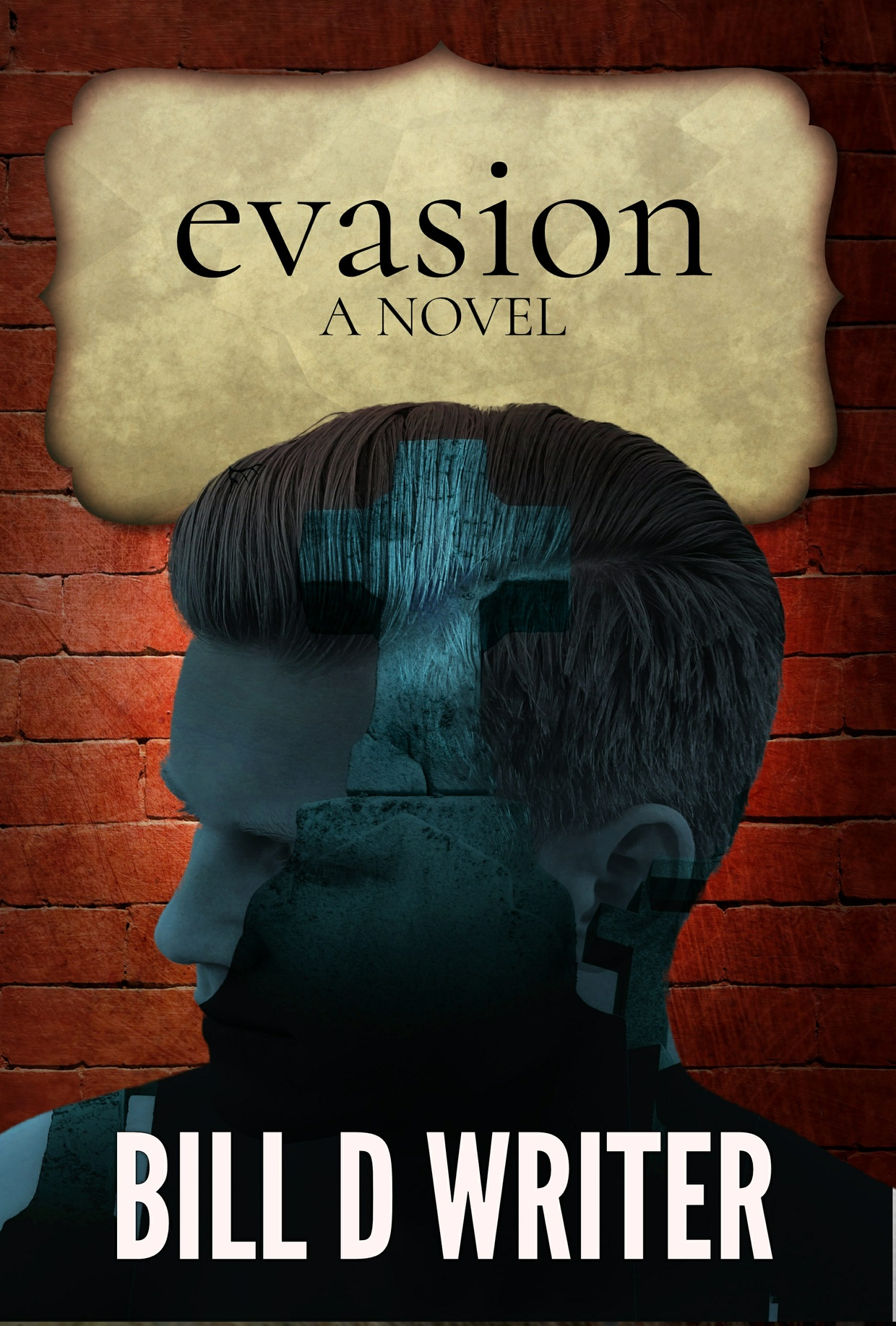Evasion Book Cover Template