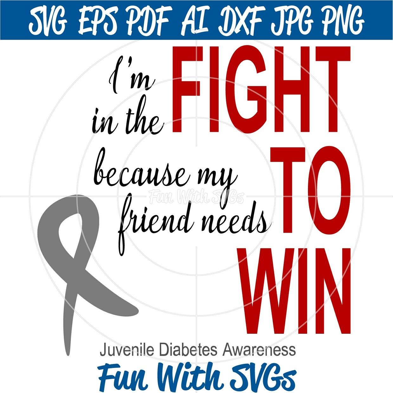 Juvenile Diabetes Awareness, Fight To Win,