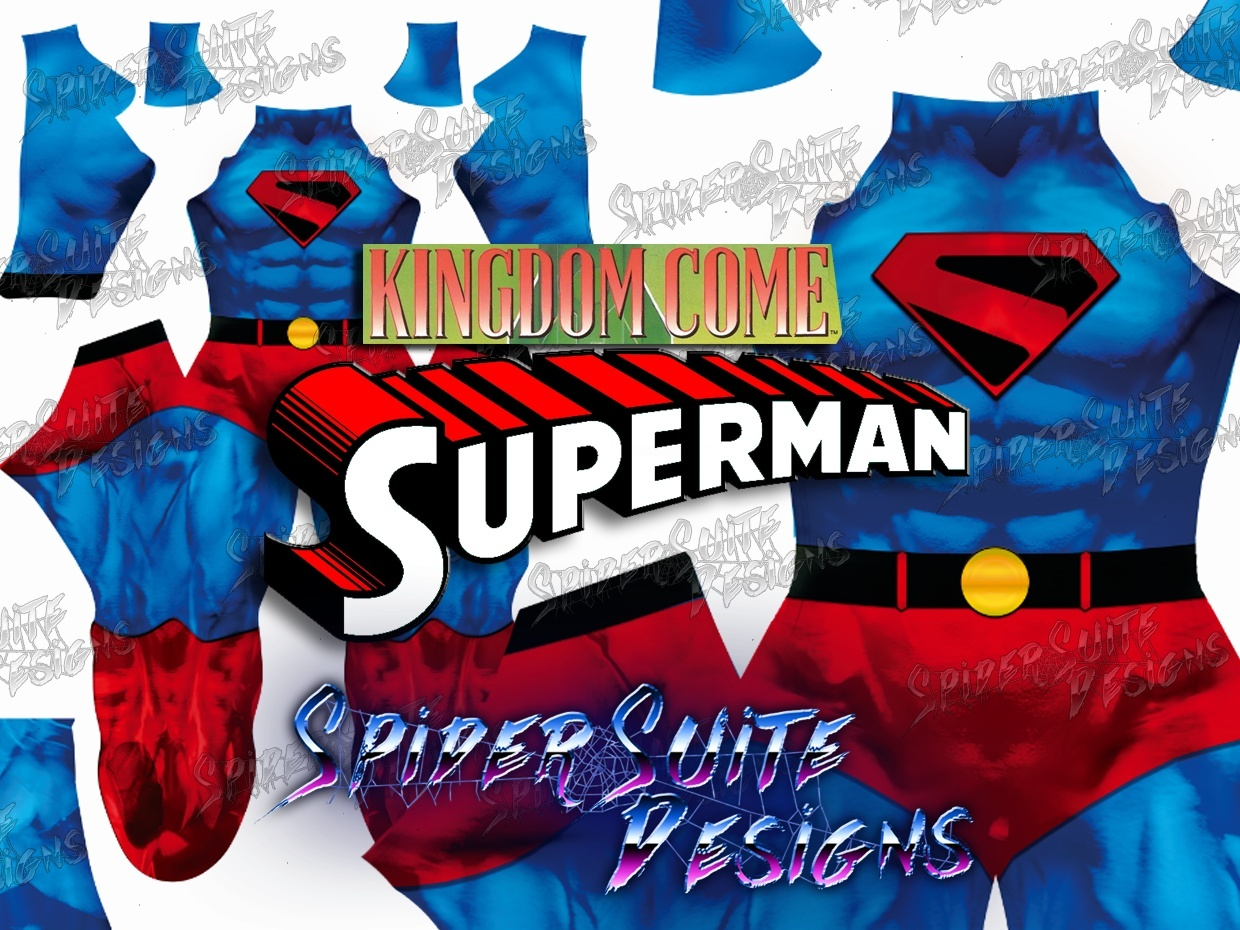 Superman Kingdom Come 2017 Pattern