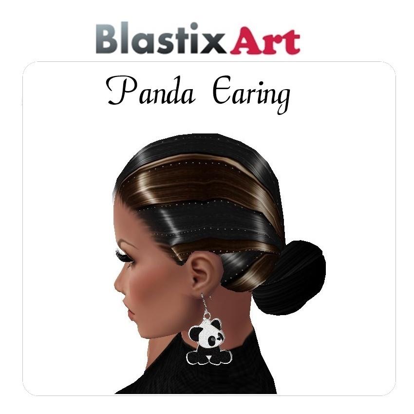Panda  Earing