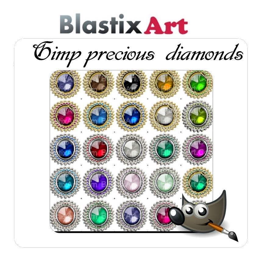 Gimp Precious Diamonds