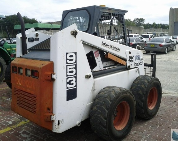 Bobcat 953 Skid Steer Loader Service Repair Workshop Manual DOWNLOAD