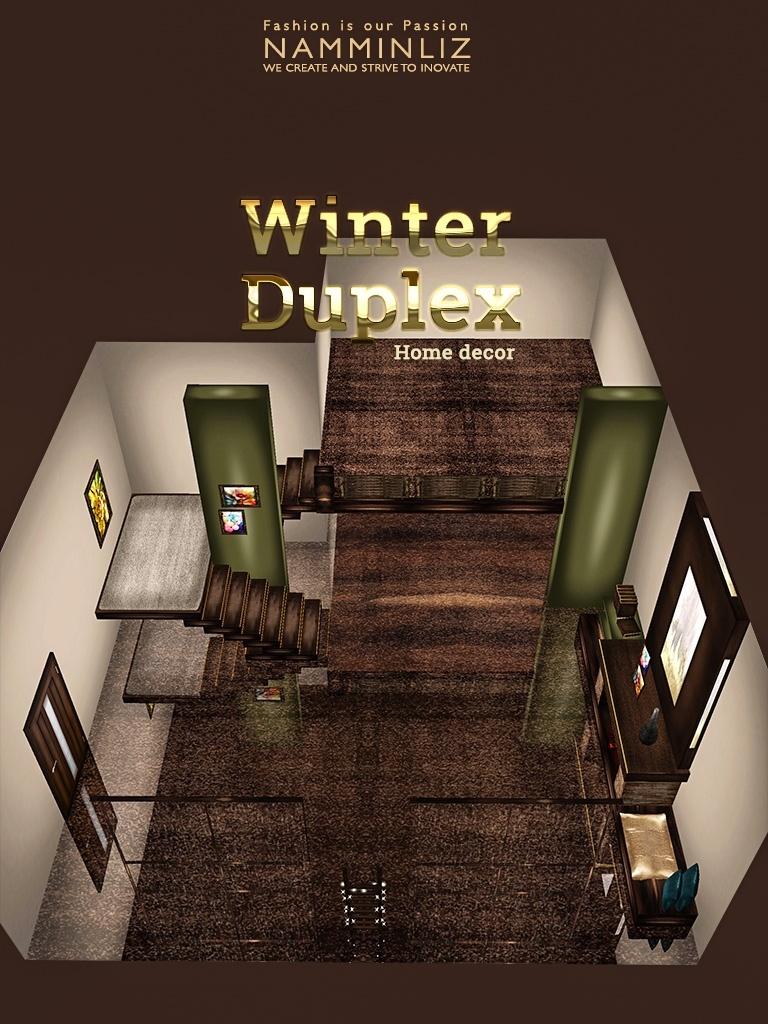 Winter duplex Home decor JPG textures imvu NAMMINLIZ File sale