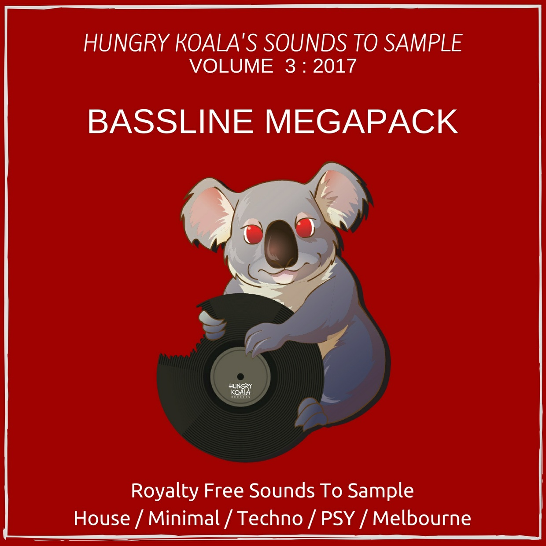 Bassline Megapack : Hungry Koala's Sounds To Sample
