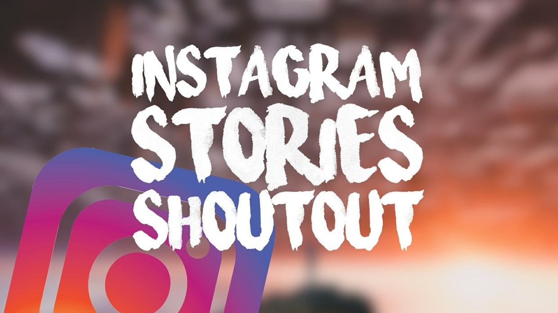 Instagram Stories Shoutout