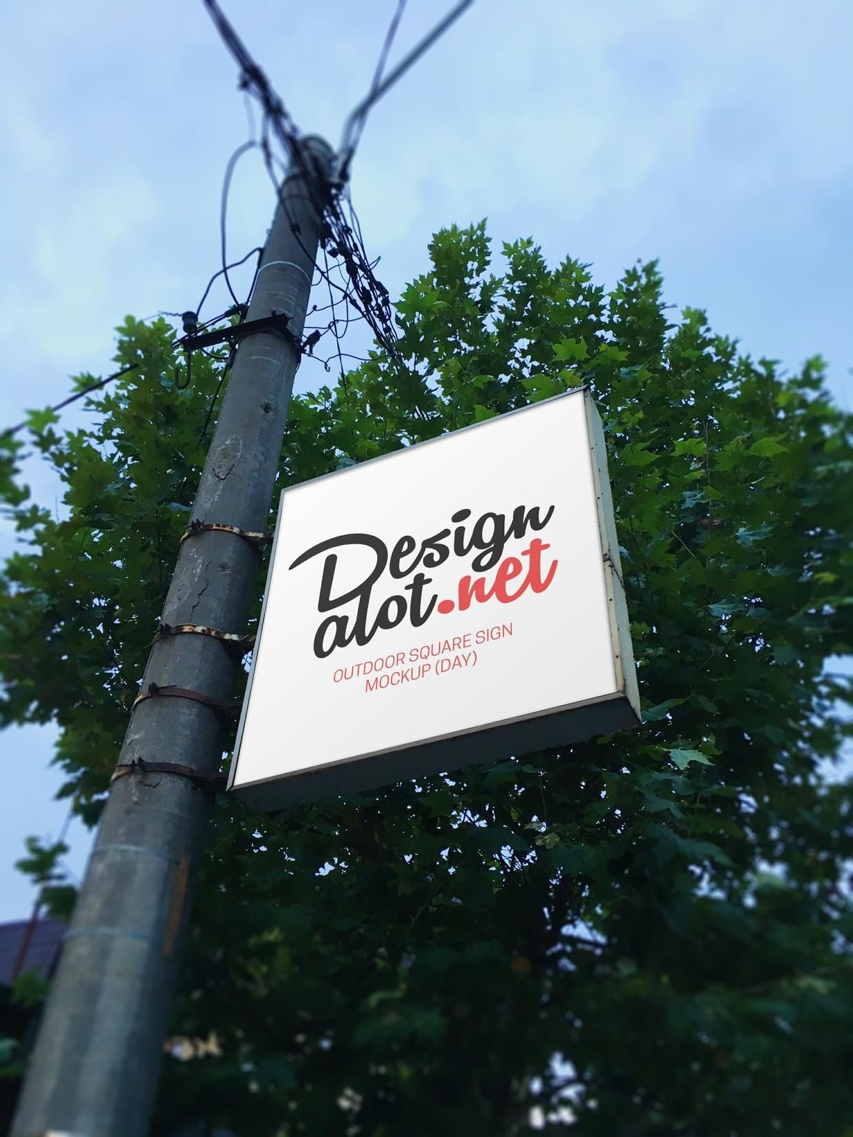 outdoor signs mockups designalot sellfy com