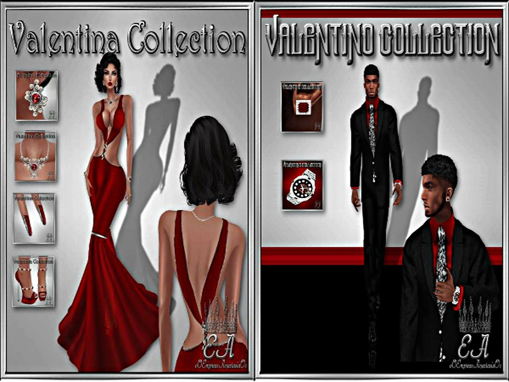 Valentino & Valentina Collections No Re-Sell Rights!!!
