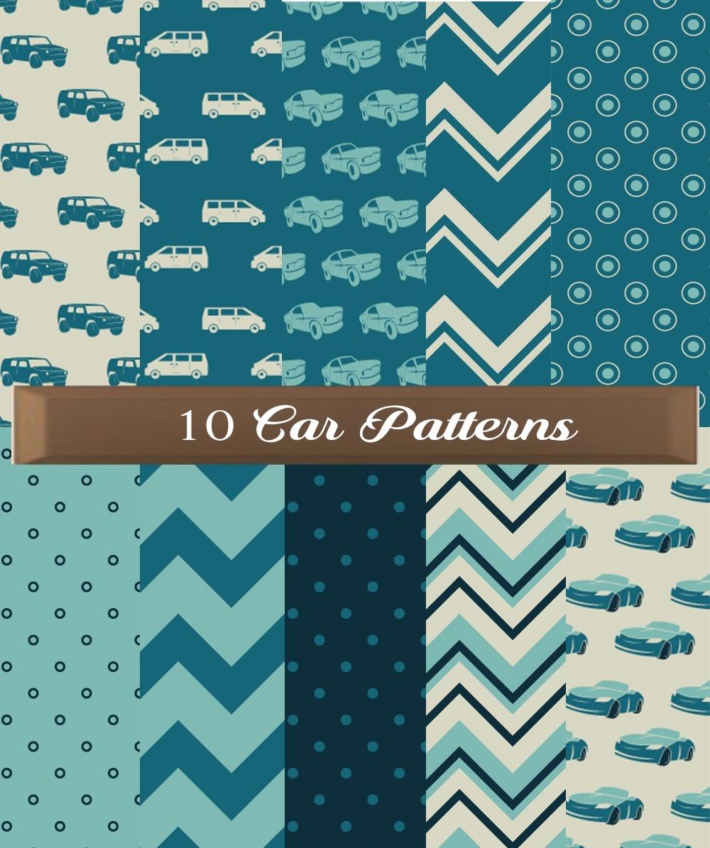 Car Pattern Texture Set