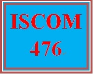 ISCOM 476 Week 2 Learning Team Charter