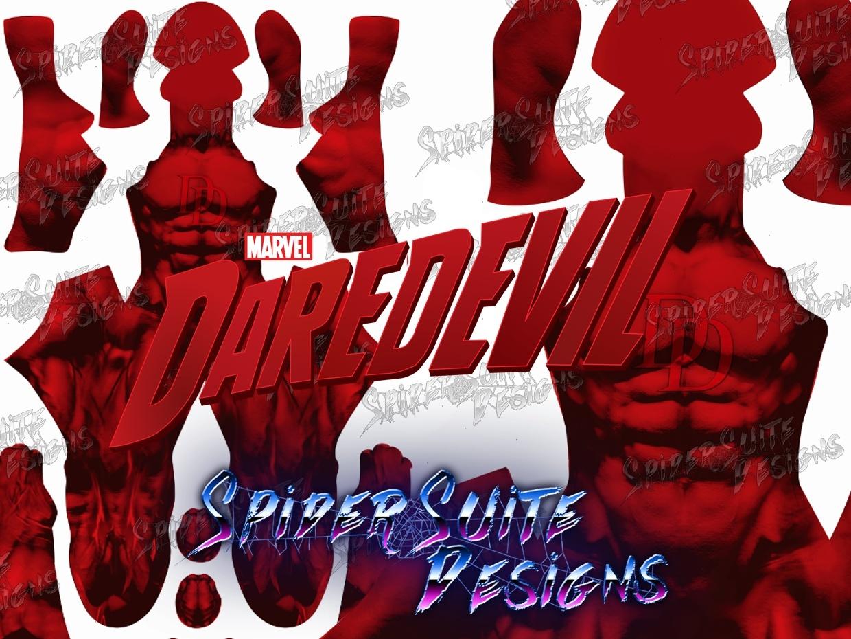 Classic Daredevil 2017 Pattern