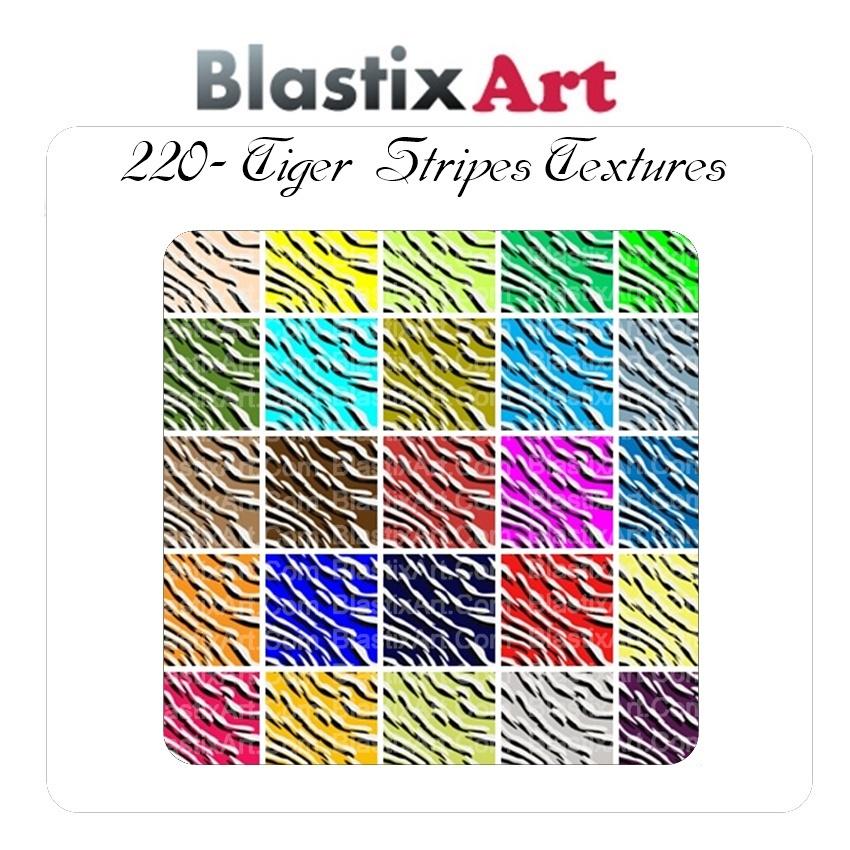220- Tiger Stripes Texture #3