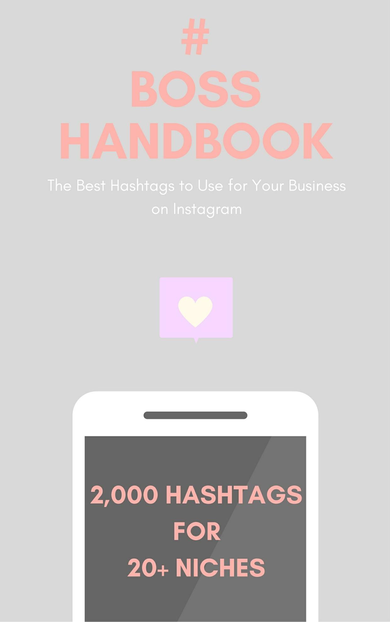 #BossHandbook