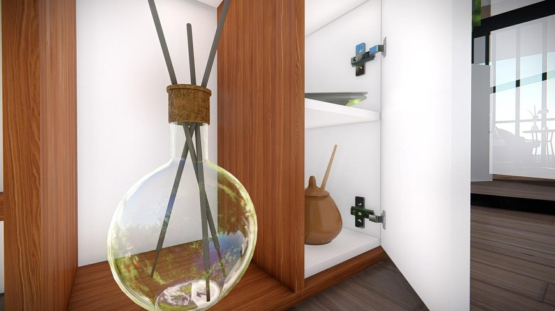 Revit Complete Cabinetry System : Entertainment Center-1