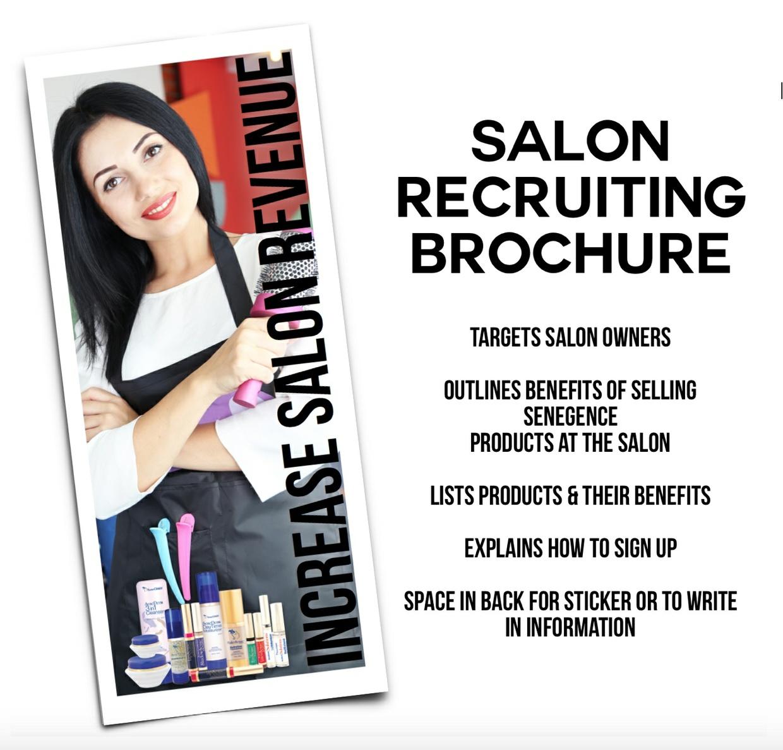 USA - Salon Recruiting Brochure