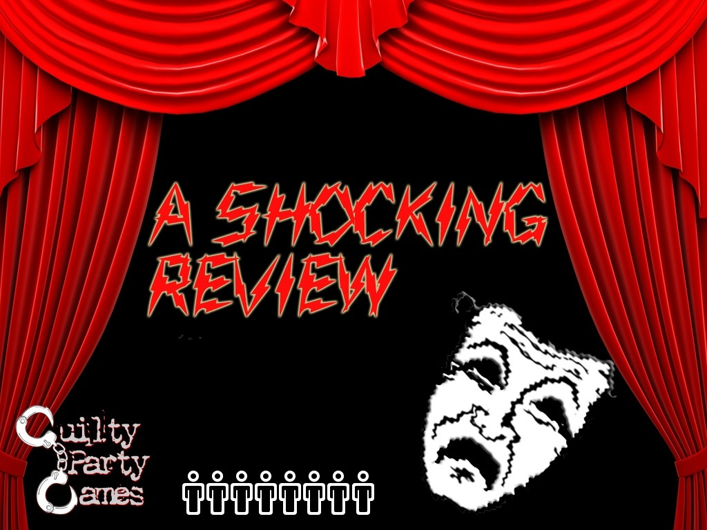 A Shocking Review - Murder/Mystery Dinner Party Game (8 Players)