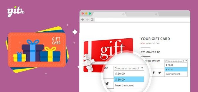YITH WooCommerce Gift Cards Premium 1.8.0 Extension