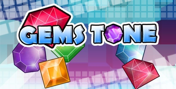 Gemstone - Tap 3 Match Game HTML5