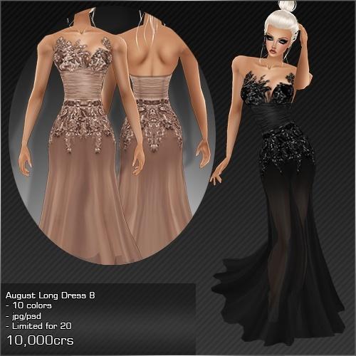 2013 Aug Long Dress # 8