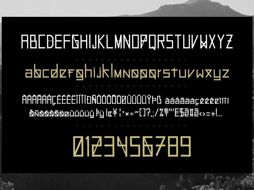 HOLLYWOOD99 - Font.