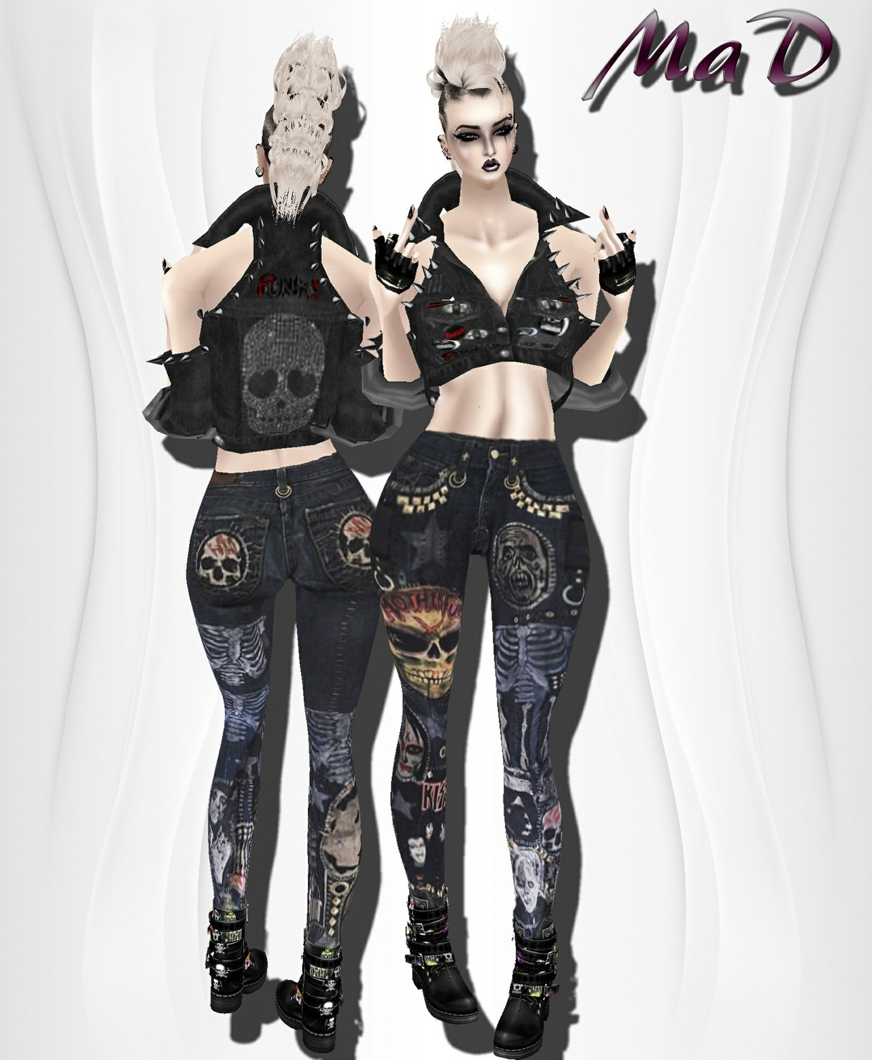 MaD Punk Set ONLY CATTY