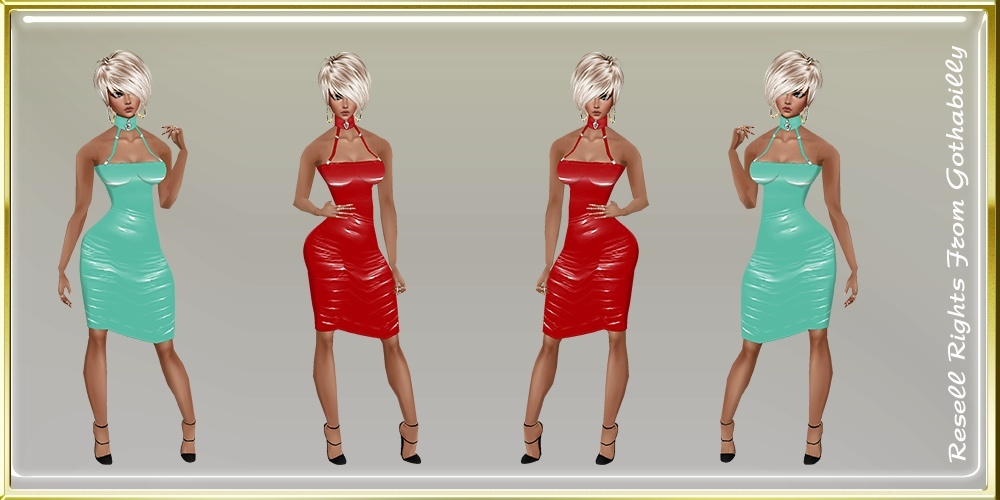 Blue & Red Dresses Catty Only!!!
