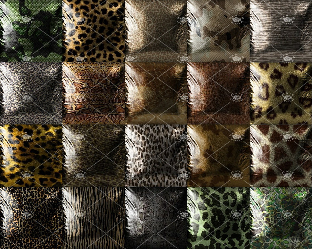 "OLDER COLLECTION ""ANIMAL PRINT PILLOWS """