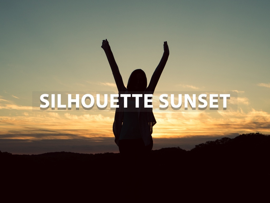 """Silhouette Sunset"" - Lightroom Preset"