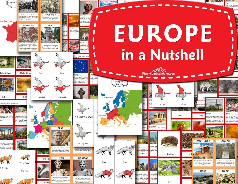 Europe in a Nutshell | Pinay Homeschooler PDF Shop - Sellfy.com