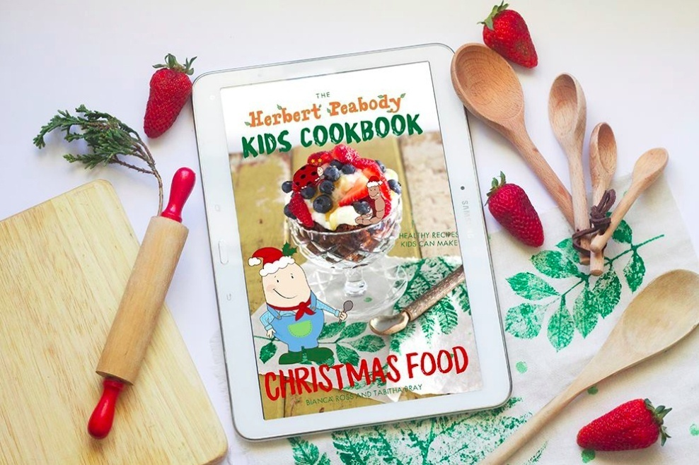 The Herbert Peabody Kids Cookbook Christmas Food