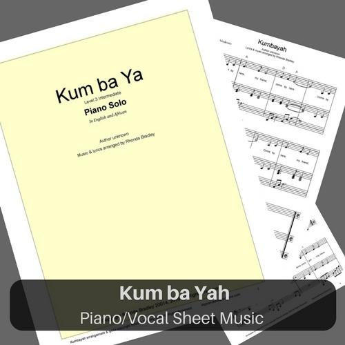 Kum Ba Ya piano sheet music