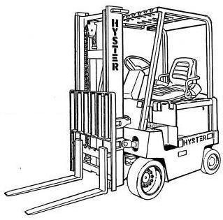 Hyster Forklift Truck C098 Series: E3.50XL, E4.00XL, E5.00XL, E5.00XL, E5.50XL Spare Parts List EPC