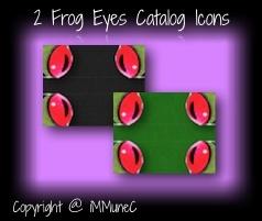 2 Frog Eyes Catalog Icons