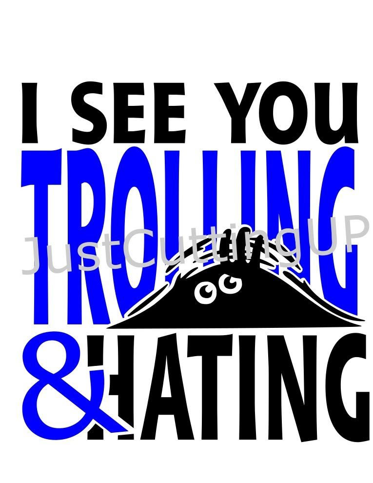 Trolling SVG, SVG ONLY