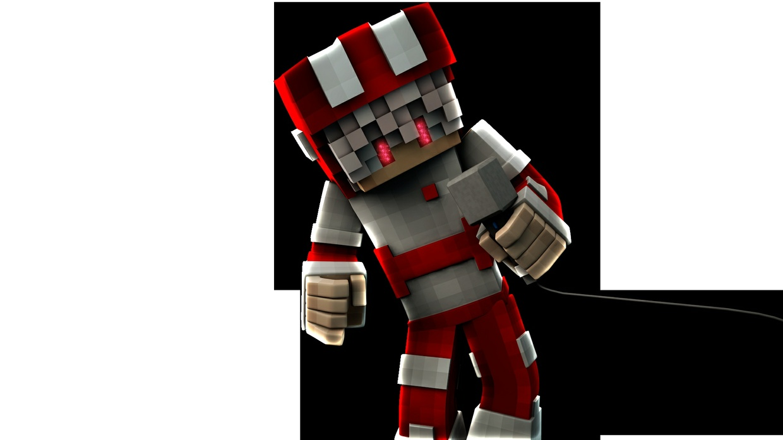 2 Minecraft Renders (C4D + PhotoShop)
