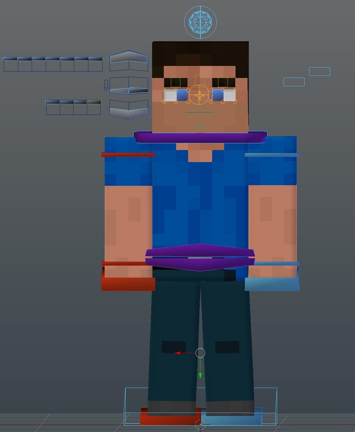 (Blender) LimetteDesigns Rig V4