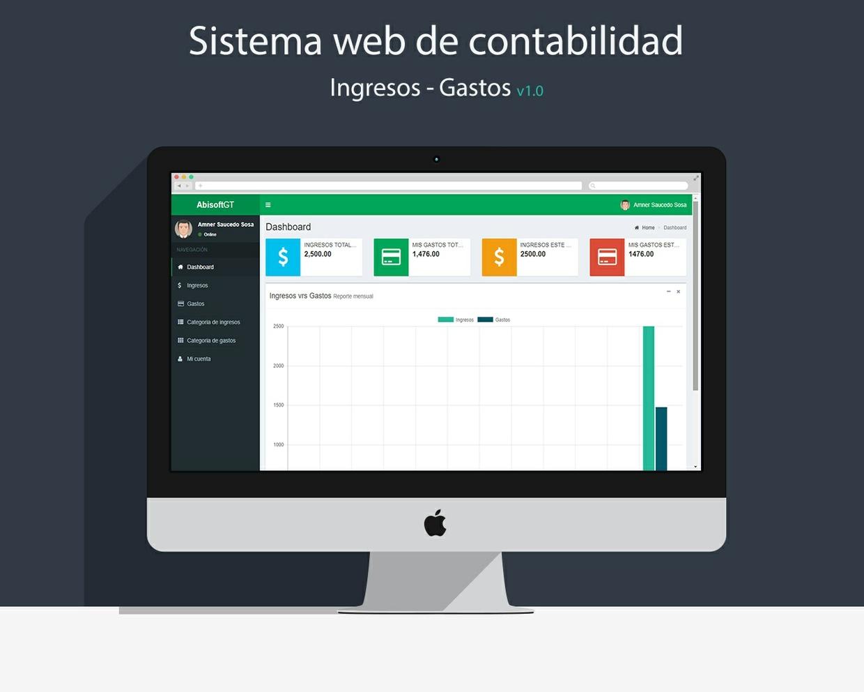 Sistema Web de Contabilidad, Ingresos y Gastos