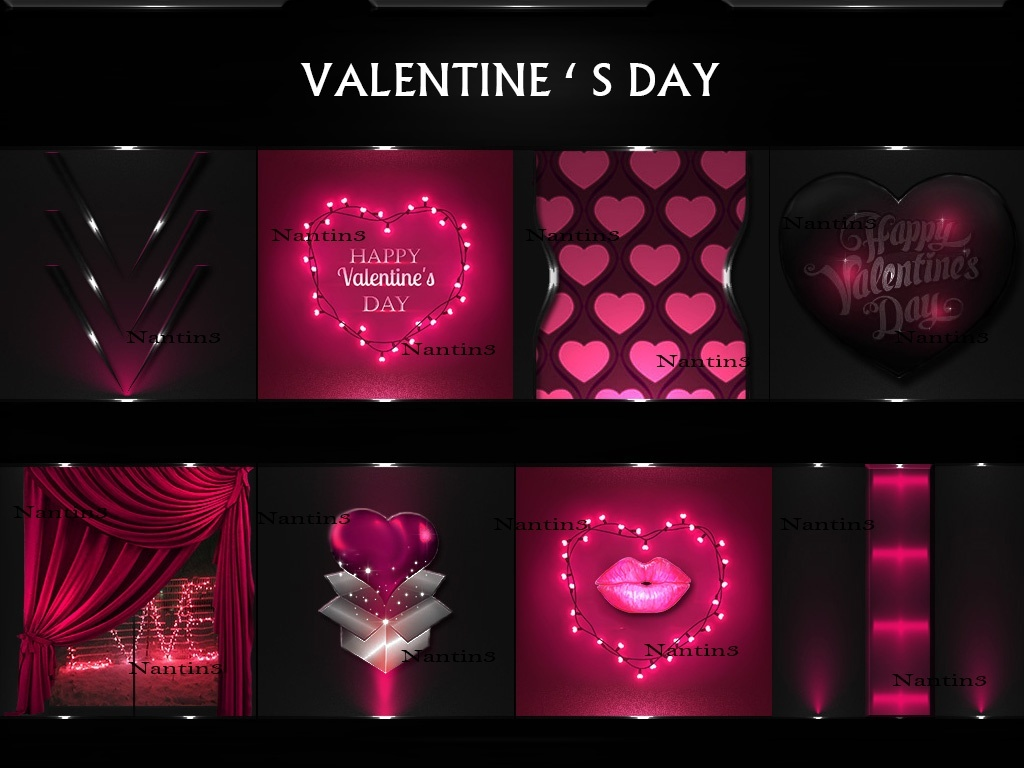 VALENTINE 'S DAY FILES 36Textures 256x256jpg.