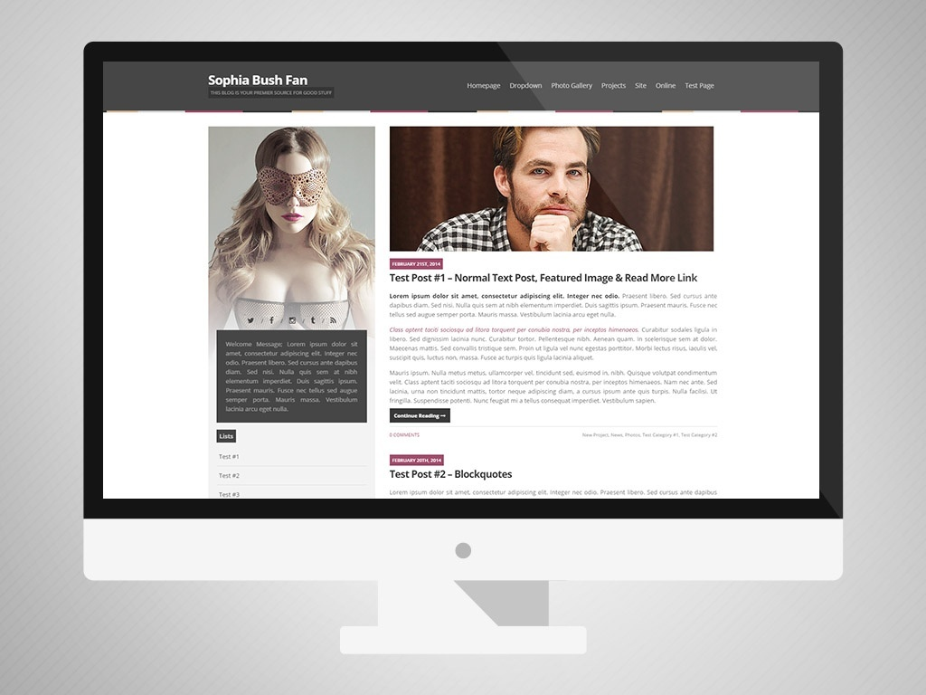WP Premade [Single Sidebar] (From WP/CPG Bundle #08)